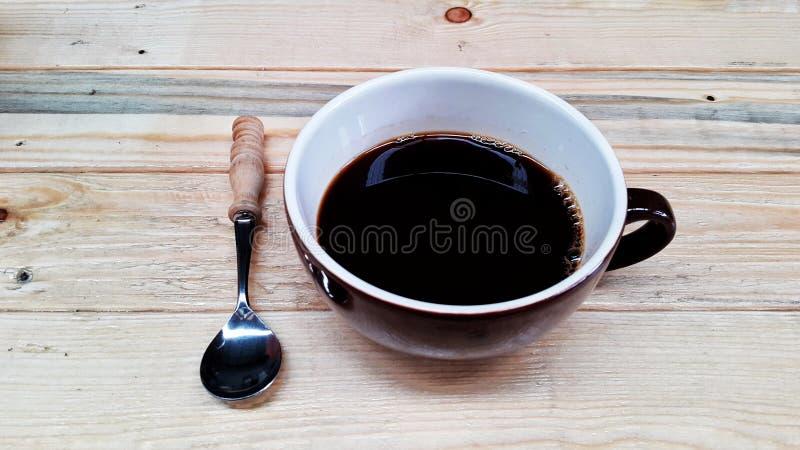 热的americano咖啡 库存照片