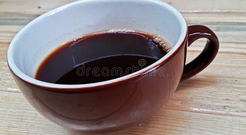 热的americano咖啡 免版税库存照片