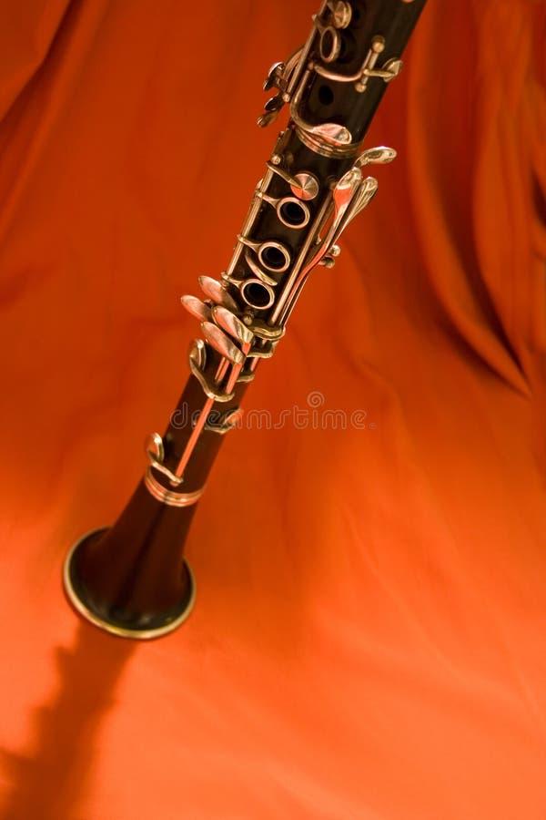 热的clarinet1 免版税库存图片