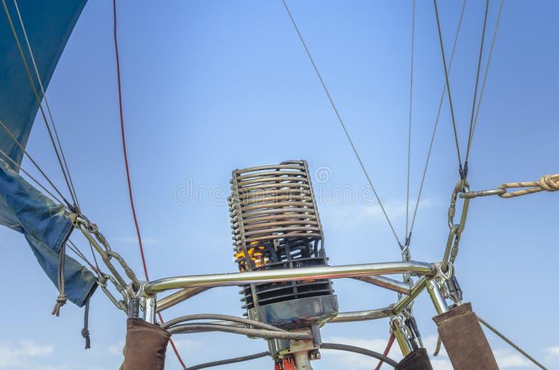 热空气气球煤气喷燃器 图库摄影