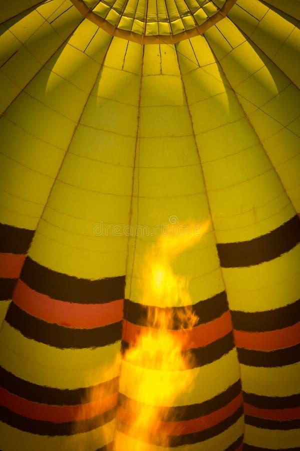 热空气气球纳帕谷 库存图片