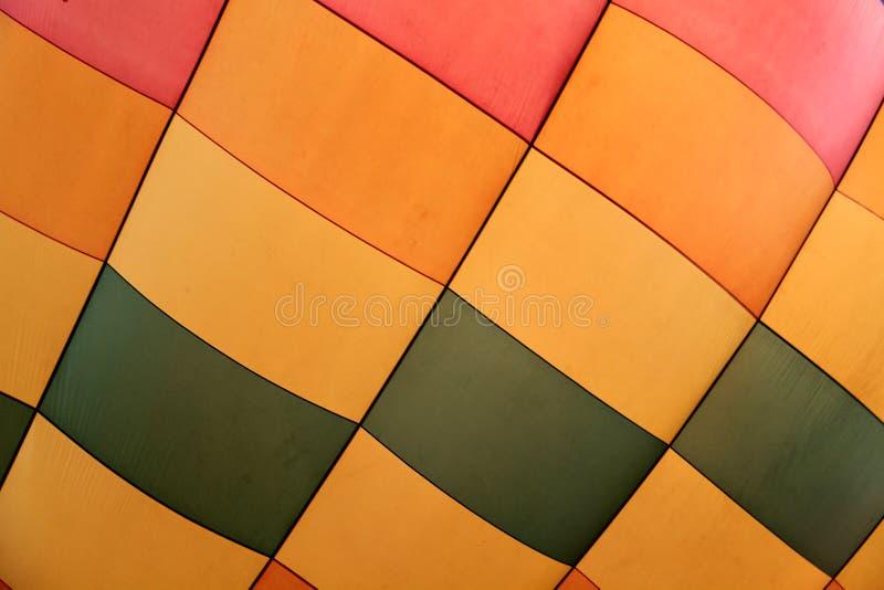 热空气气球细节  库存照片