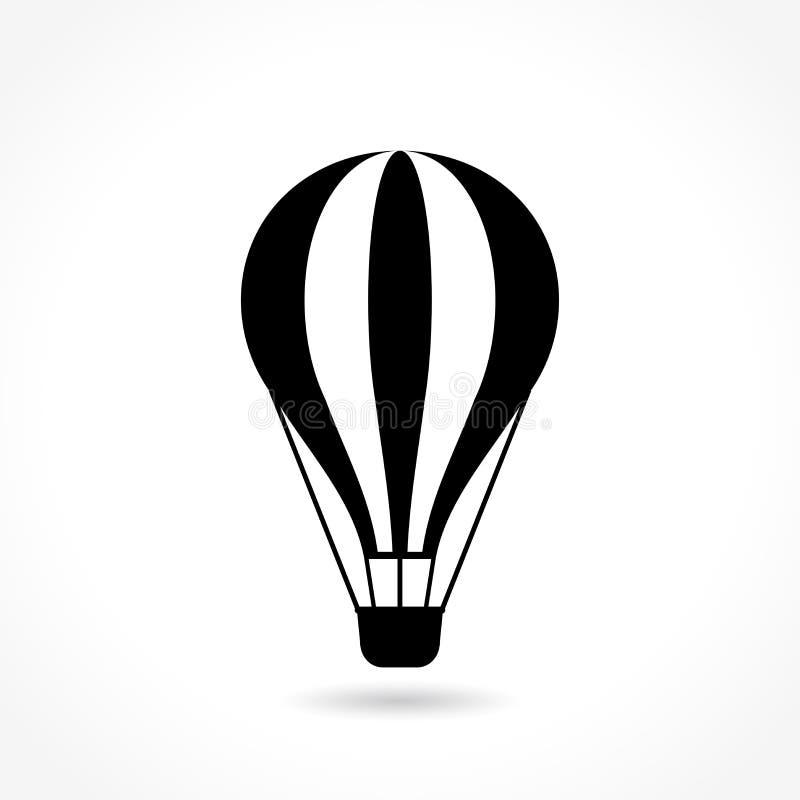 热空气气球象 皇族释放例证