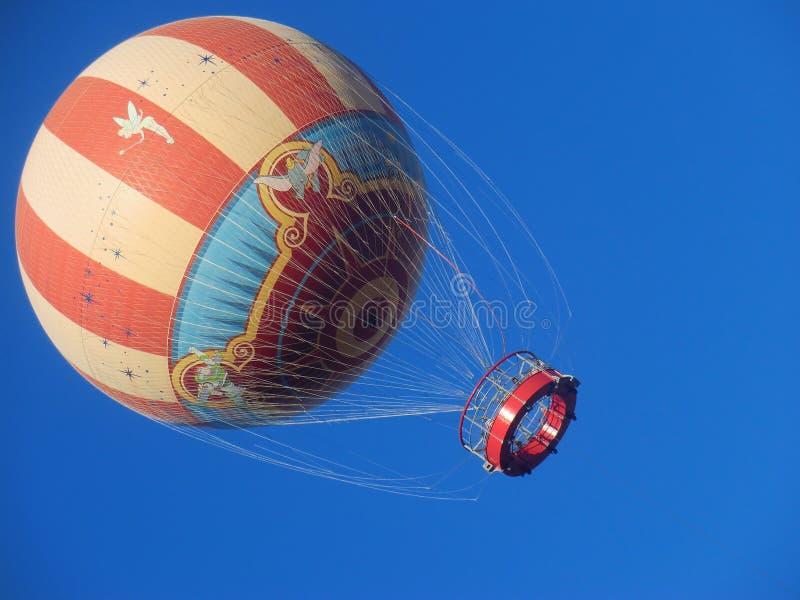 热空气气球Disneyworld 免版税库存图片