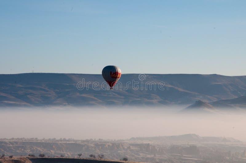 热空气迅速增加Capadocia 图库摄影