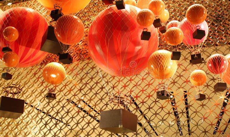 热空气baloon 库存照片