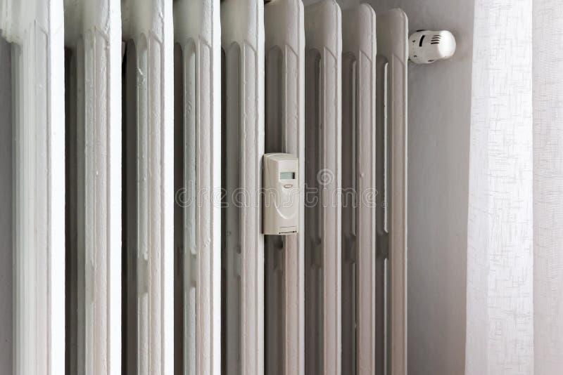 热能测量器幅射器的 库存照片