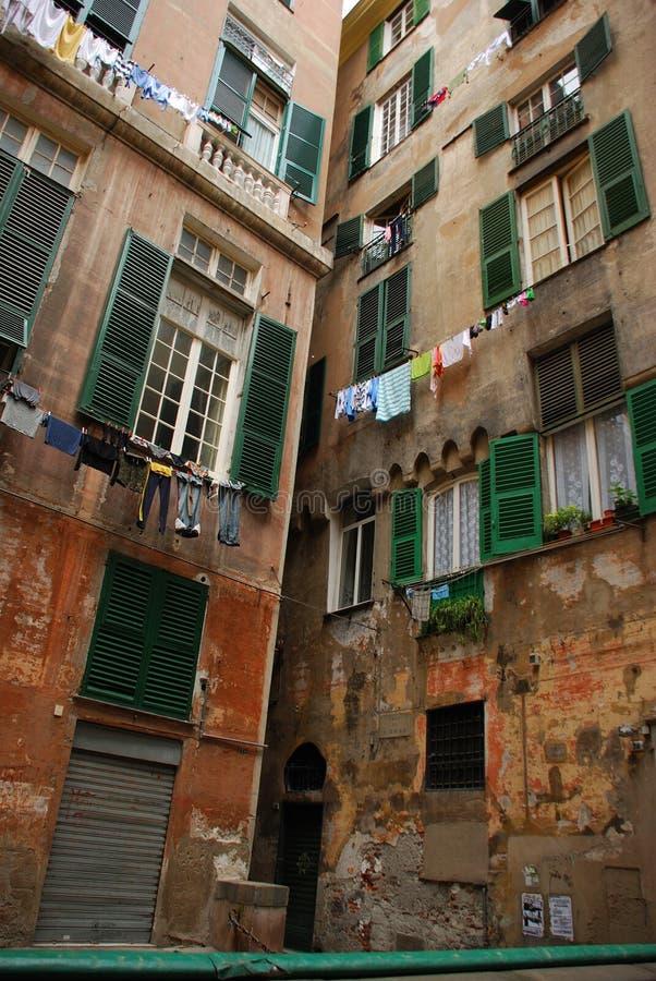 热那亚意大利 免版税库存图片
