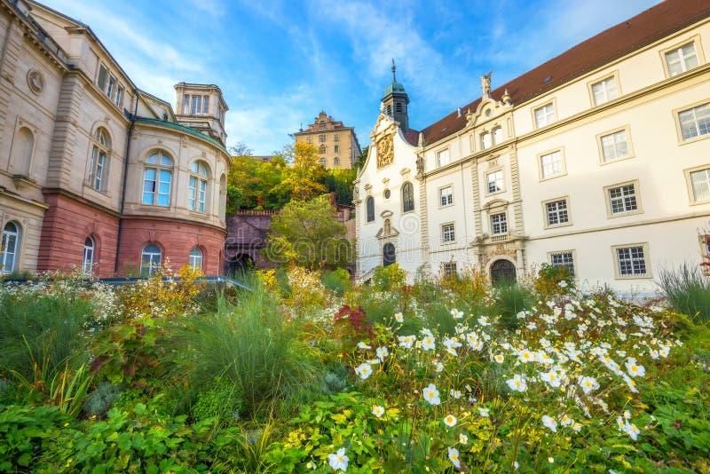 热量浴Friedrichsbad在温泉度假胜地巴登-巴登 德国 库存图片