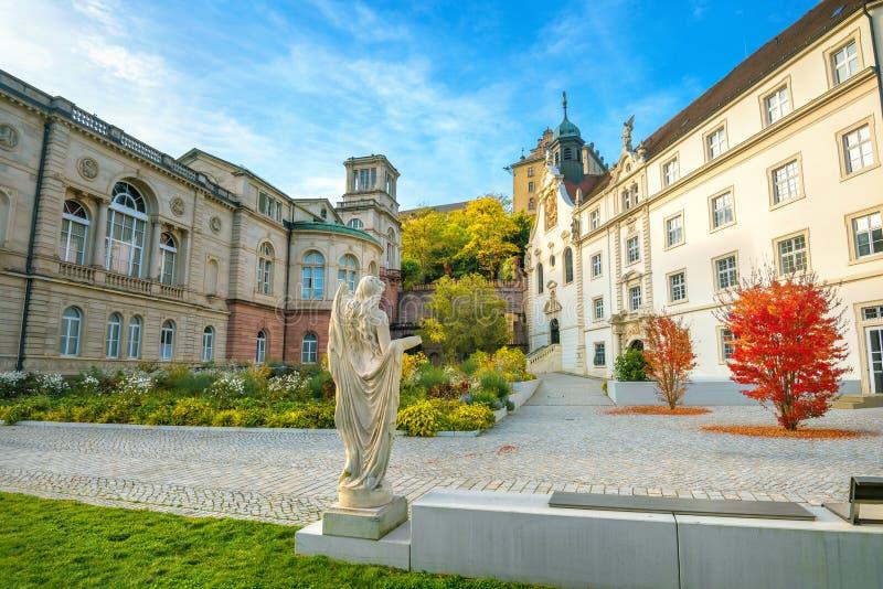 热量浴Friedrichsbad在温泉度假胜地巴登-巴登 德国 库存照片