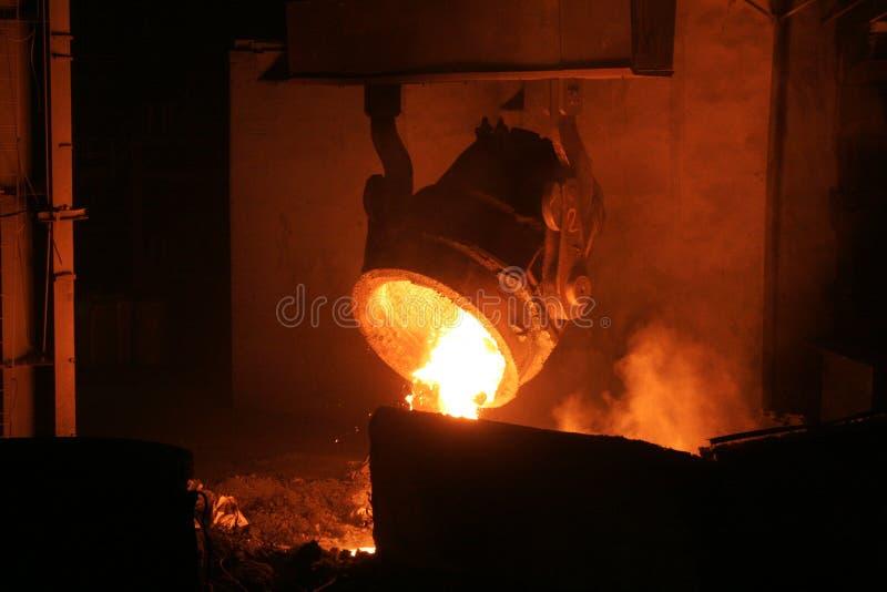 热钢 图库摄影