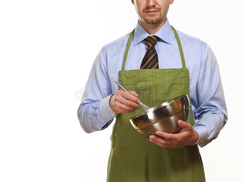 烹调人的商业 库存照片