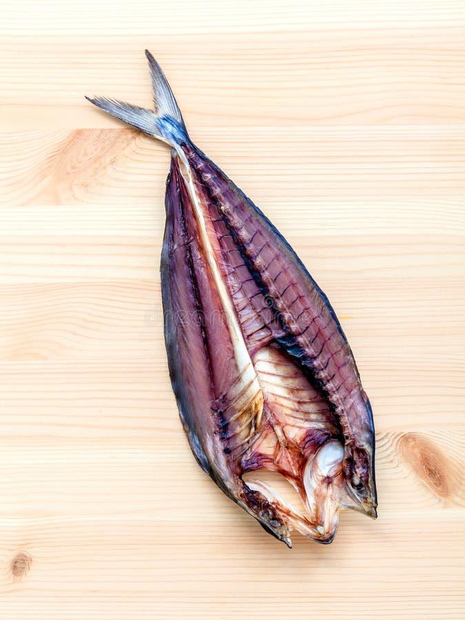 烹调传统亚洲食物的Prepare保存了咸鱼  免版税库存图片