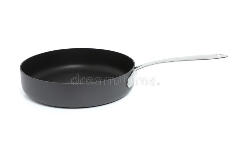 烹调或煎锅 库存照片