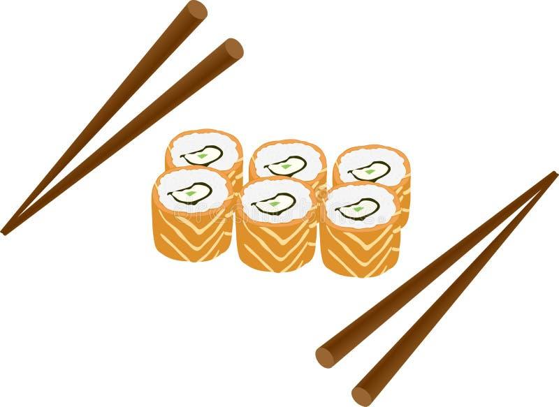 烹调日语 向量例证