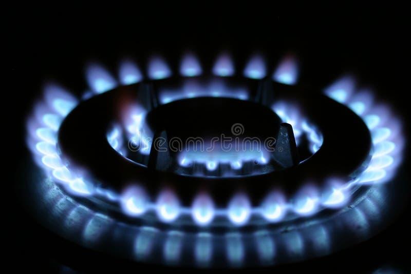 烹调气体 图库摄影