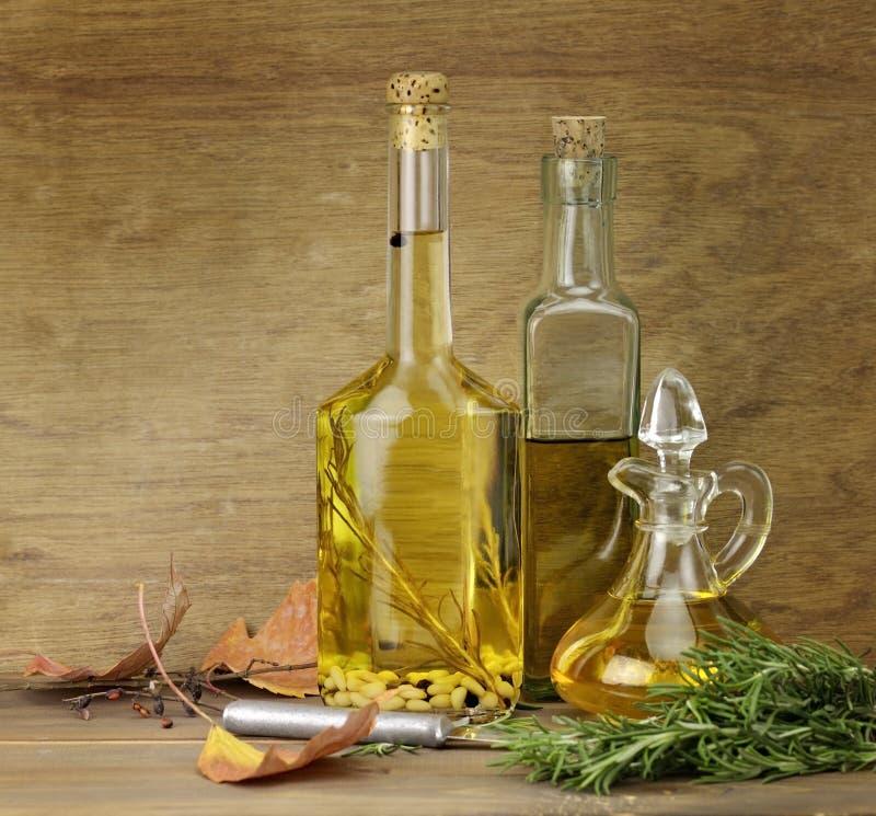 烹调用油香料 免版税库存照片