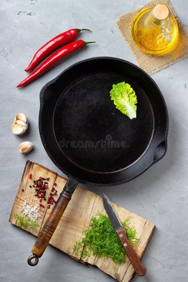 烹调背景概念 免版税库存照片