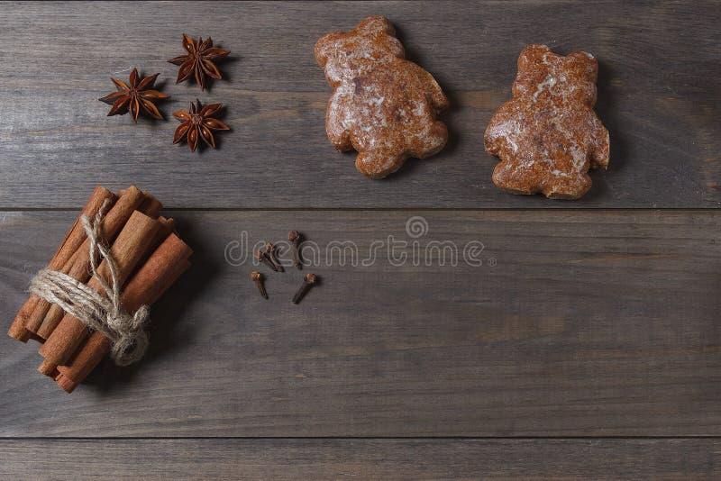 烹调背景的圣诞节 xmas 横幅圣诞节eps10例证向量 空白的 库存图片