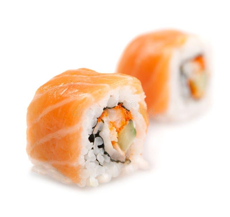烹调食物日本maki寿司 图库摄影