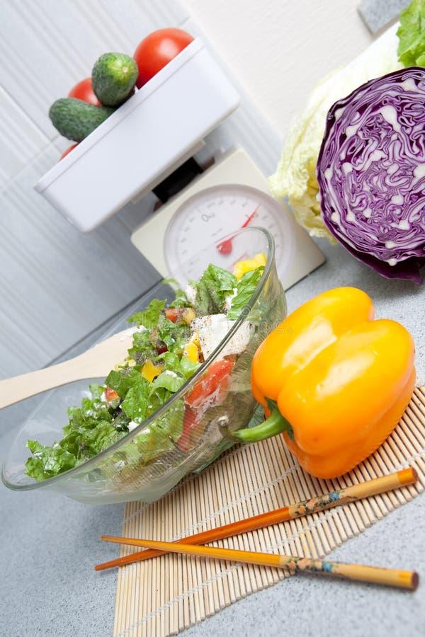 烹调食物蔬菜 免版税库存照片