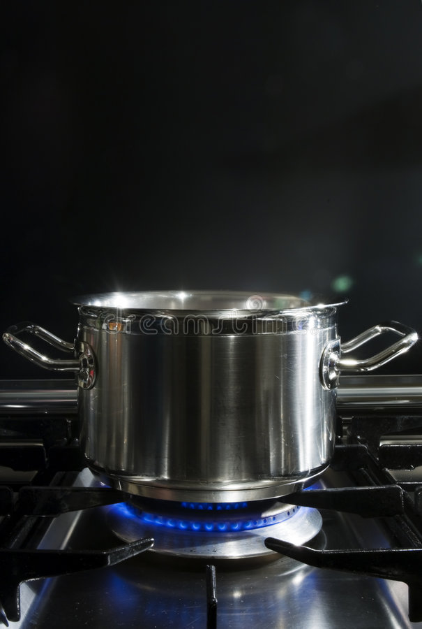 烹调gaz 免版税图库摄影