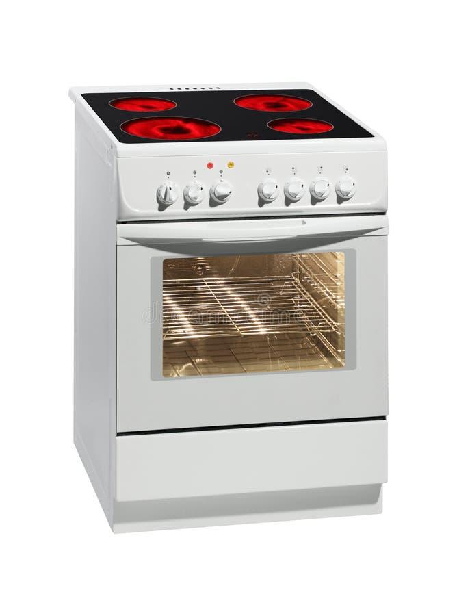烹饪器材电白色 库存照片