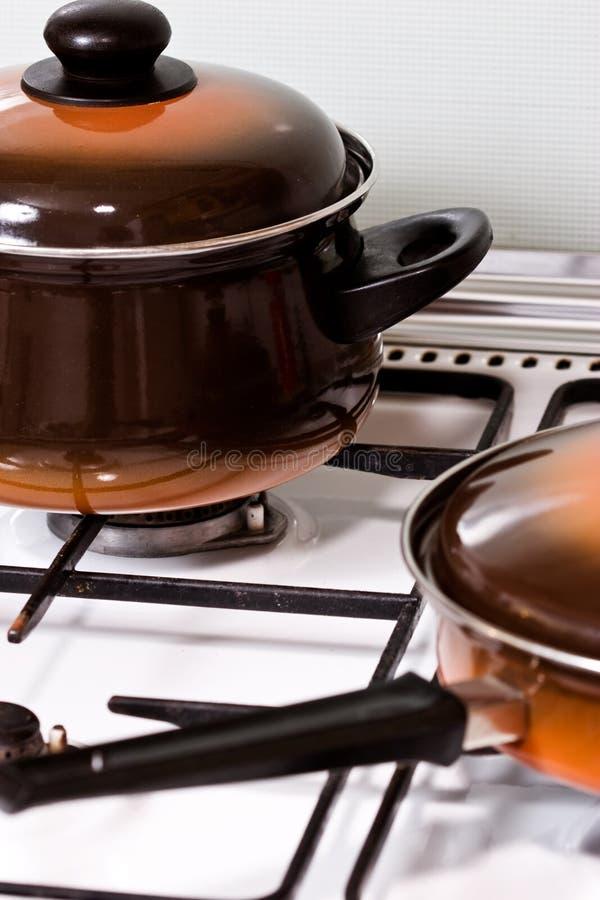烹饪器材 免版税图库摄影