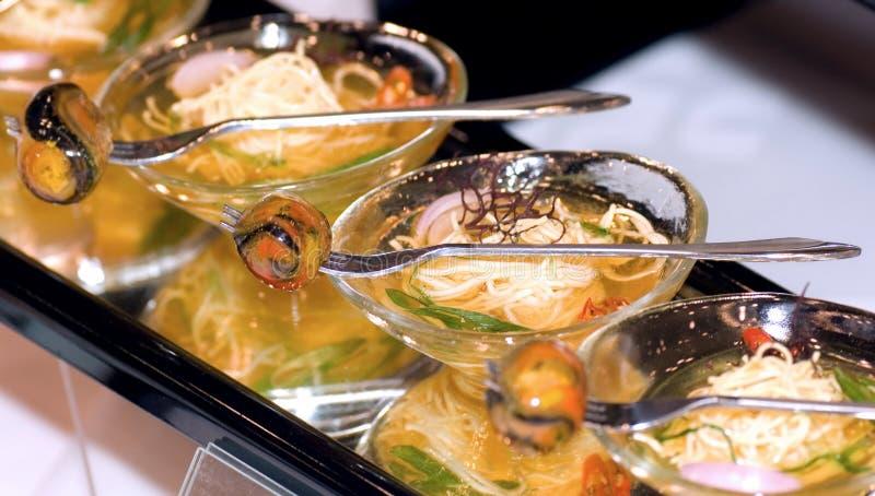 烹饪皇家吉隆坡马来西亚面条 免版税库存图片