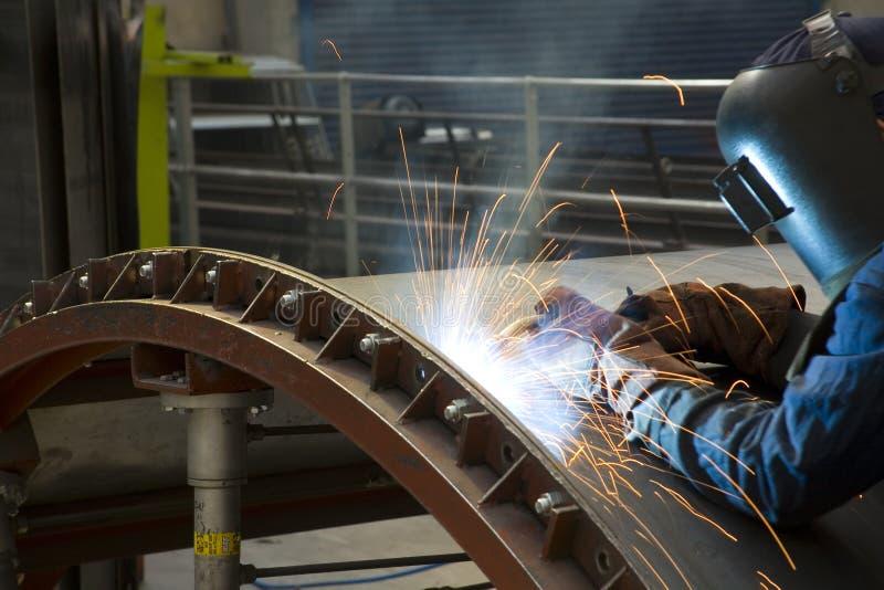 焊工 库存照片