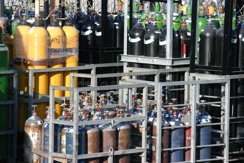 焊接气体 免版税库存照片