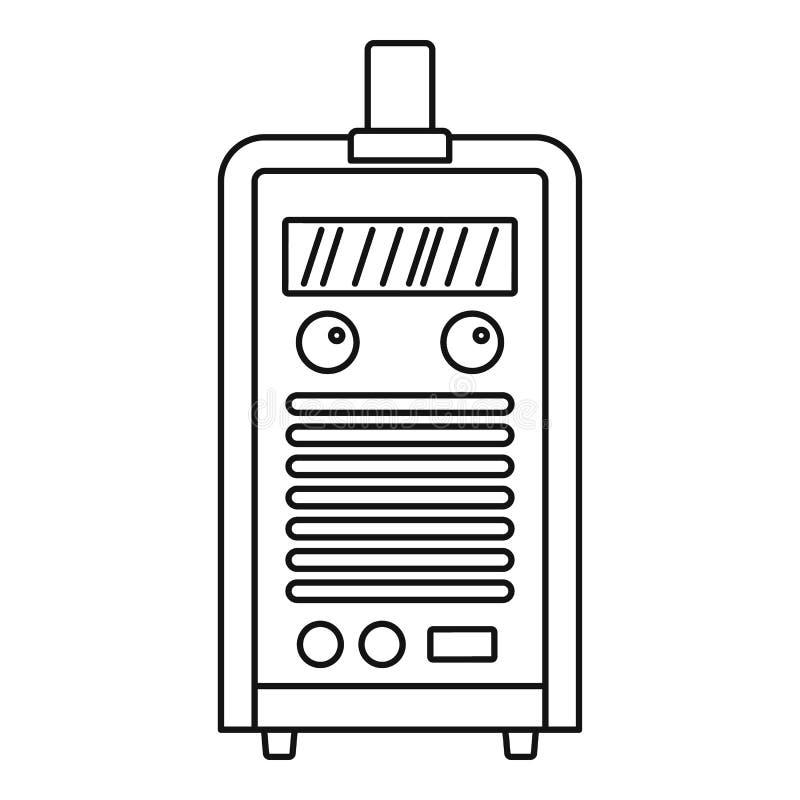 焊接设备象,概述样式 皇族释放例证