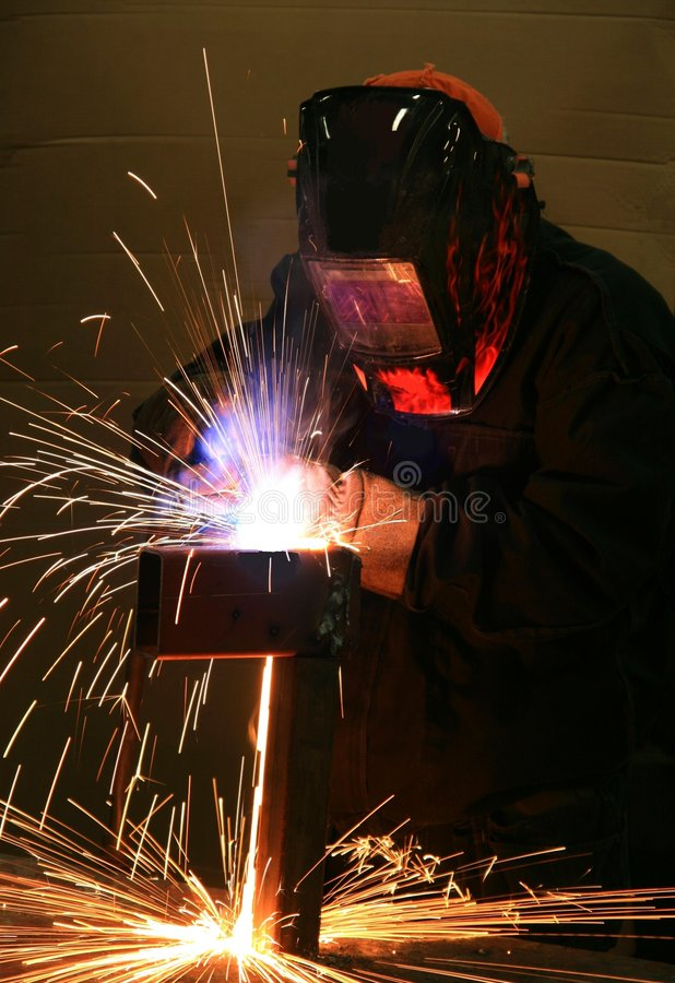 焊接 免版税库存照片