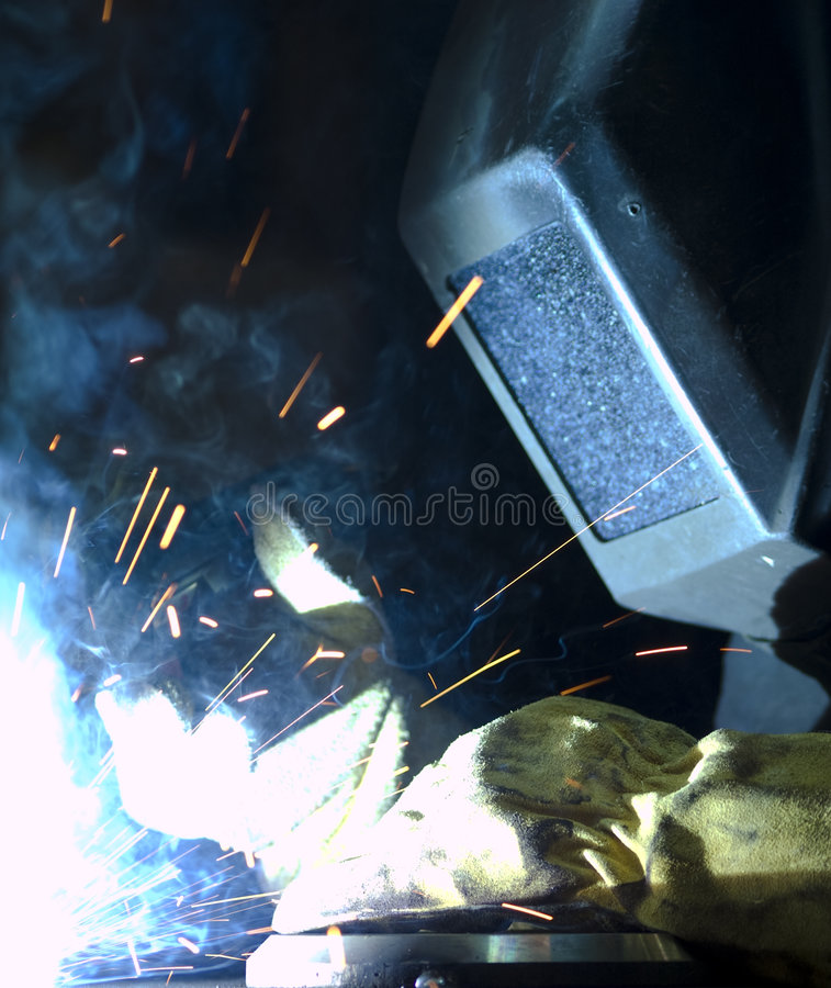 焊接 免版税库存图片