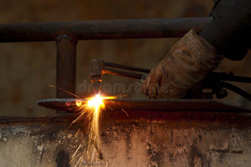 焊接 库存照片