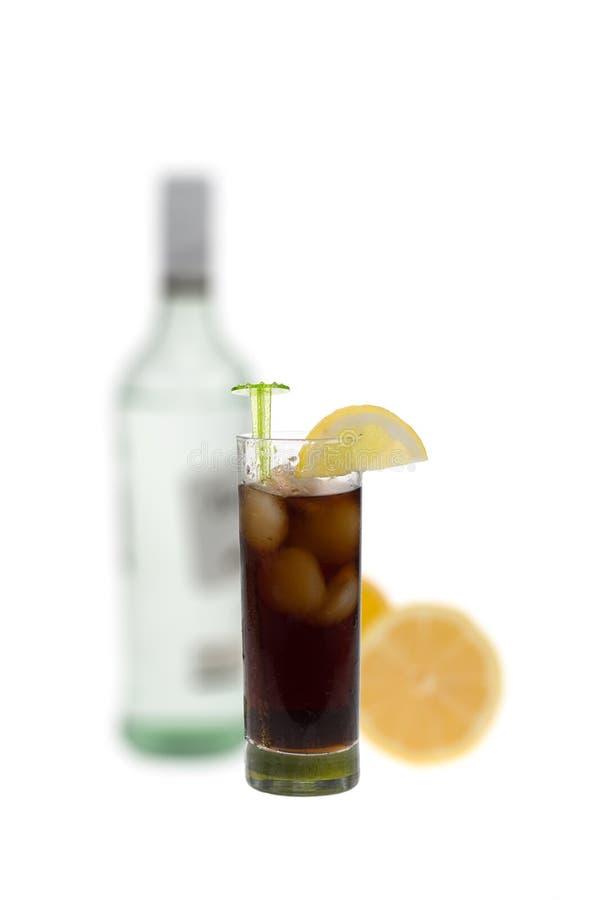 焦炭兰姆酒 免版税库存照片