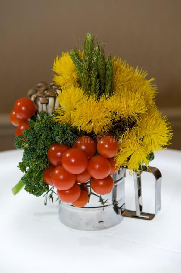 焦点创造性的叶子蔬菜 库存照片