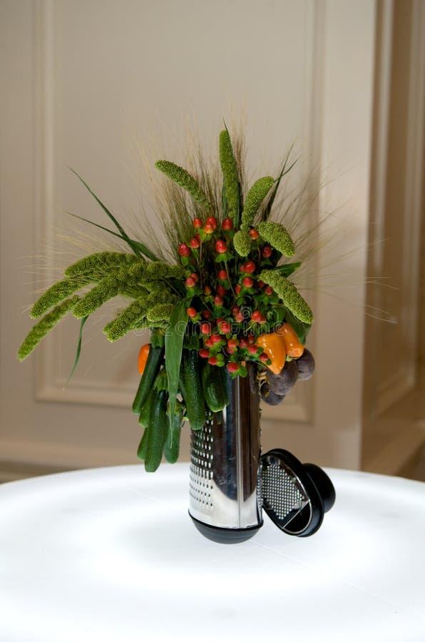 焦点创造性的叶子蔬菜 库存图片