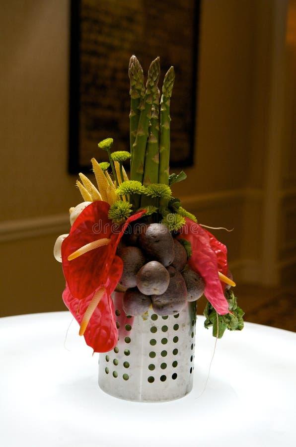 焦点创造性的叶子蔬菜 免版税图库摄影