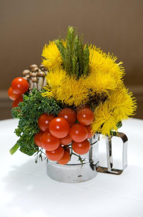 焦点创造性的叶子蔬菜 免版税库存图片