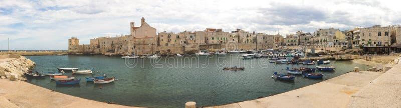 焦维纳佐市在普利亚在意大利 免版税库存图片