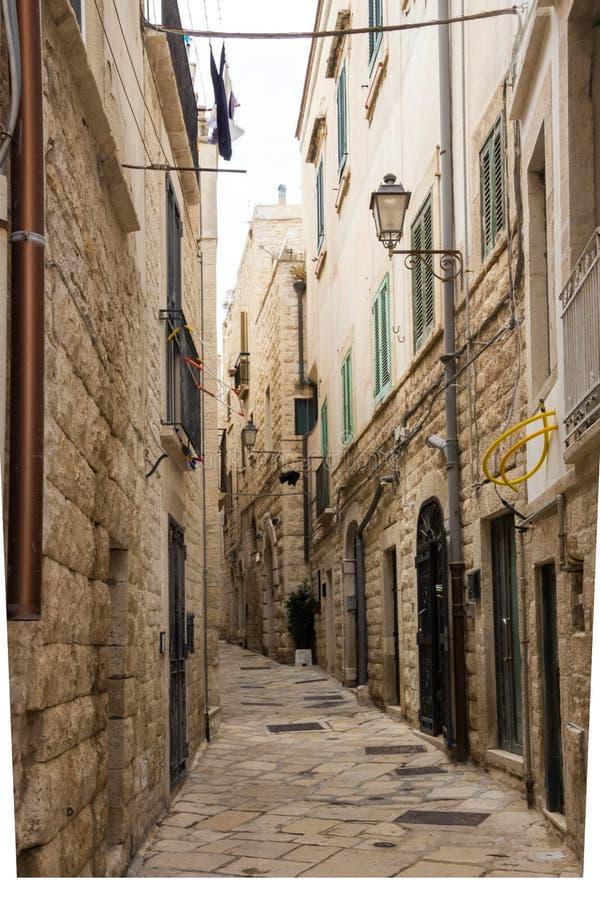 焦维纳佐市在普利亚在意大利 库存照片