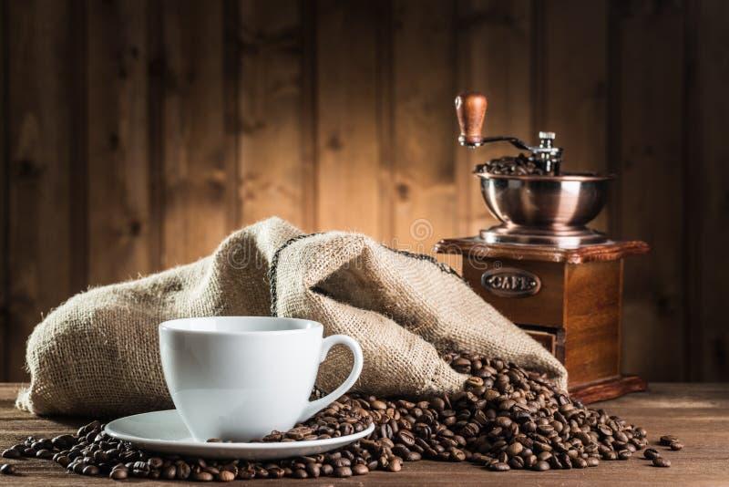 仍然咖啡生活 库存照片