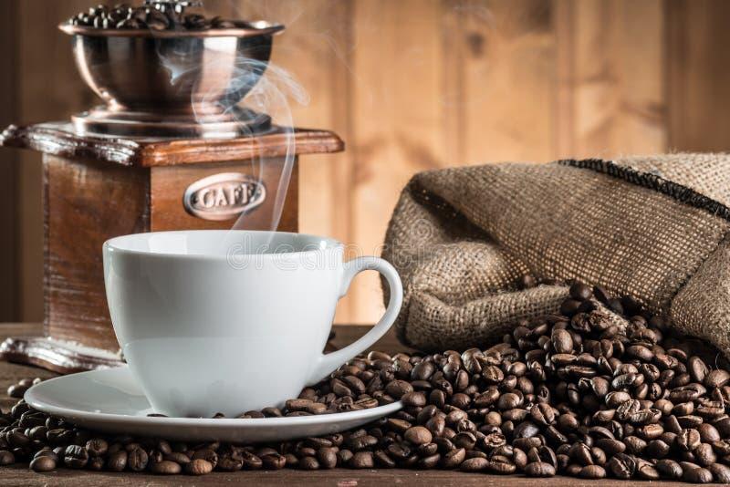 仍然咖啡生活 图库摄影