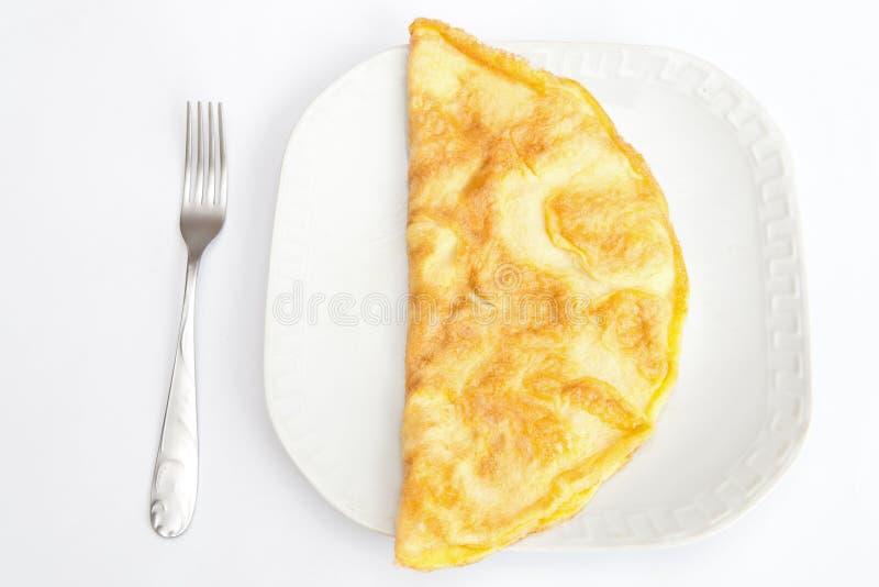 煎蛋卷 免版税库存图片