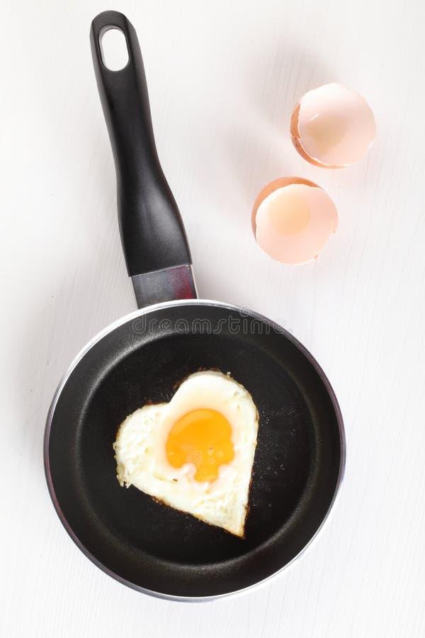 煎蛋 图库摄影
