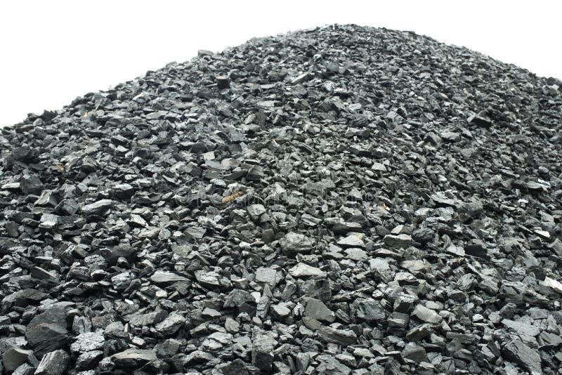 煤堆 免版税库存照片