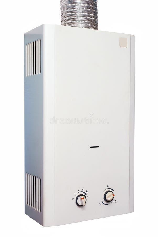 煤气加热器水 库存图片