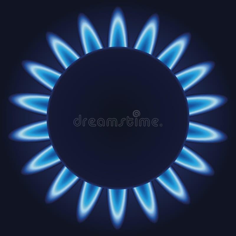 煤气喷燃器 库存例证