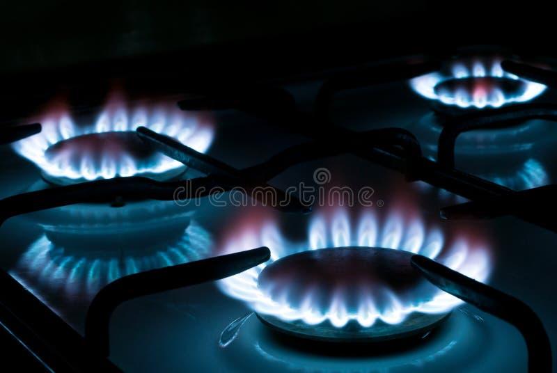 煤气炉v1 免版税图库摄影